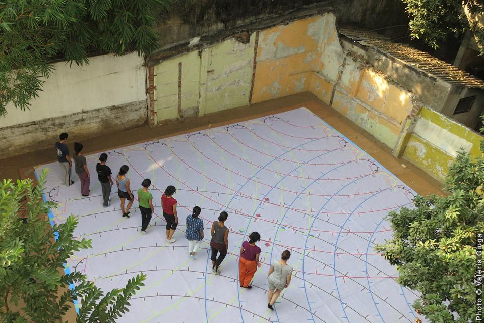 L'étranger au paradis indien, David Rolland Chorégraphies, Nantes, danse