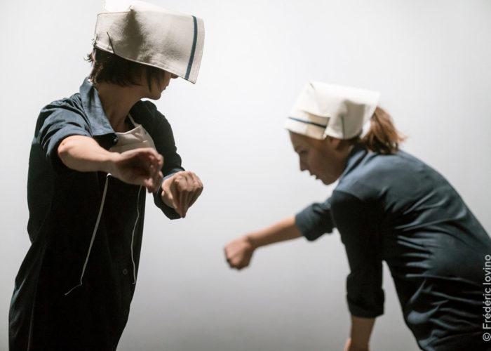 Les infirmières, David Rolland Chorégraphies 2020, crédit photo Frédéric Iovino #04
