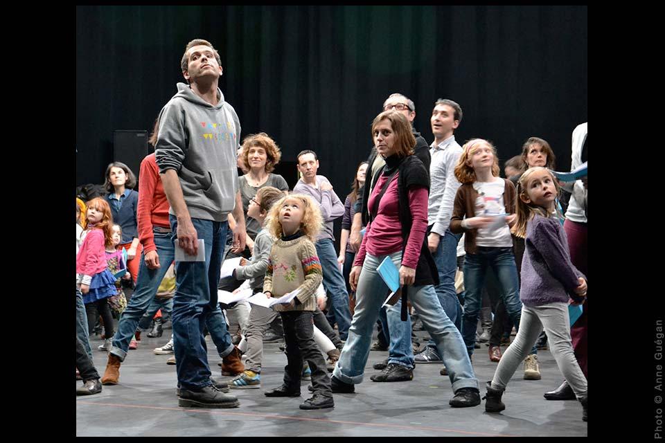 Les Lecteurs complices (chorégraphies familiales), David Rolland Chorégraphies, Nantes, danse